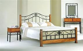 wood and iron bedroom furniture. Rod Iron Bedroom Set Wrought Furniture Fantastically Hot Throughout And Wood .