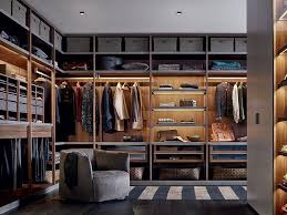poliform senzafine closet design interior