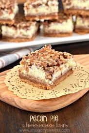 pecan pie cheesecake recipe pinterest. Simple Recipe Pecan Pie Cheesecake Bars Inside Recipe Pinterest I
