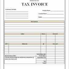 Tax Invoice Template Withholding Tax Invoice Template Rabitah With Regard To Tax 12