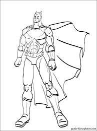 Kleurplaat Van Een Batman In De Vlucht Gratis Kleurplaten