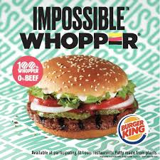 Burger King Plans Test Of New Impossible Vegetarian
