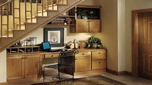 Image of: Under Stairs Storage And Desk