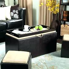 large ottoman coffee table. Big Ottoman Furniture Large Leather Coffee Table E Tray Lots Storage