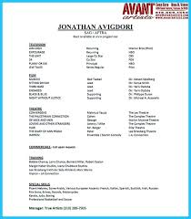 Dream Resume Examples awesome Amazing Actor Resume Samples to Achieve Your Dream resume 9