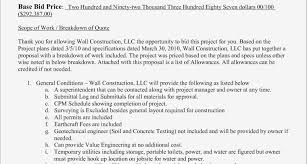 Document Template : Construction Proposal Template Contract Of ...