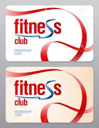 Fitness Club Membership Card Design Template
