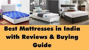 8 top quality best mattress in india
