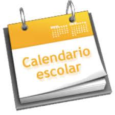 Resultado de imagen de calendario escolar