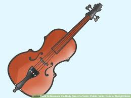 How To Measure The Body Size Of A Violin Fiddle Viola