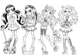 Barbie Coloring Pages Fashion Fashion Model Coloring Pages Show In
