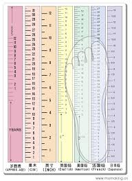Children S Shoe Size Chart By Inches Childrens Shoe Size Chart Google Search Shoe Size Chart