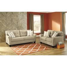 ashley laryn 2 piece sofa set in khaki
