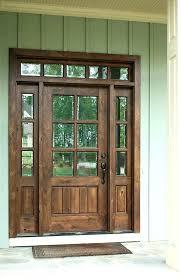wood front entry door double glass front doors stunning ideas wood front door with glass exterior
