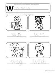 The first page has 9 different objects, where kids need to find only the ones that start with. Phonics Worksheets Lesson Plan Flashcards Jolly Phonics Letter Ww Lesson Pack