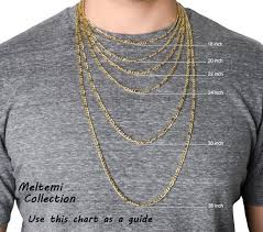 Necklace Thickness Chart Mens Gold Necklace Thick Curb Link Gold Chain Large Chunky Necklace 11mm Heavy Gold Neck Chain For Men Miami Cuban Link Gold Jewelry