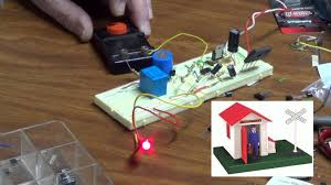 electronic circuit for the the lionel trains automatic gateman electronic circuit for the the lionel trains automatic gateman