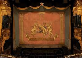 safety curtain at the theatre royal haymarket london from the flickr page