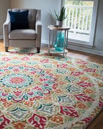 colorful area rugs for living room at modern home design ideas regarding decor 2