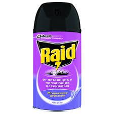 <b>Аэрозоль</b> против <b>насекомых</b> `<b>RAID</b>` Лаванда 300 мл купить в ...