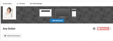 Youtube Banner Template Size The Ideal Youtube Channel Art Size Best Practices
