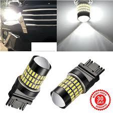 3156 Led Backup Light Bulbs Details About 2x 3157 T25 3156 Backup Reverse Turn Signal Led Light Bulbs 6000k For Dodge Ford