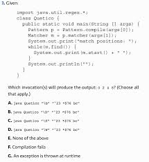 Java Pattern Compile Enchanting Java Metacharacter B Matches OCP Exam Stack Overflow