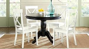 white dining room tables black 5 round dining set room grindleburg white light brown round dining