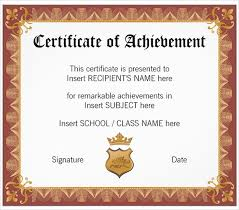 samples of certificates 30 school certificate templates samples examples format