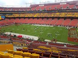 Fedex Field Club Level Seating Chart Fedexfield Zone B Club 339 Rateyourseats Com