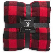 Burberry Plaid Throw Blanket