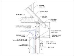 garage door section detail wageuzi