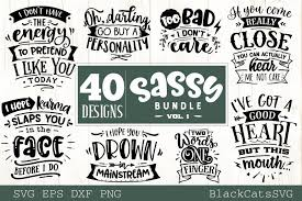Car icons ( 435 ). Sassy Bundle 40 Designs Graphic By Blackcatsmedia Creative Fabrica In 2020 Funny Svg Design Bundles Mom Humor