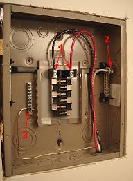 how to install and wire a cutler hammer sub panel diy old house sub panel incoming wiring connections cutler hammer 125 amp panel