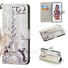 for iphone 6s plus 6 plus patterned leather wallet phone case light spot decor