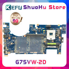 <b>KEFU</b> For ASUS G75VW G75V G75VX 2D <b>HM65</b> DDR3 laptop ...