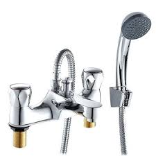 shower heads deck mounted shower head bathroom bath taps mixer hand brass bathtub filler tap
