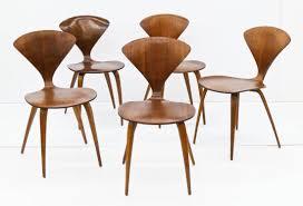 cherner furniture. Set Of Norman Cherner Walnut Side Chair For Plycraft, 1950 Furniture