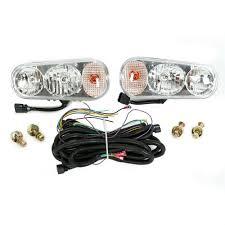 Boss Snow Plow Lights Universal Snow Plow Halogen Lights Left Right Fit Boss Western Meyer Blizzard 8431224857705 Ebay