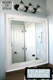 Bathroom Framed Mirrors 17 Best Ideas About Pallet Mirror Frame On Pinterest Pallet