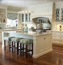 Tall kitchen cabinets with glass doors