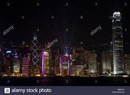 Bmc Lighting Hong Kong Symphony Of Lights Hong Kong Sar Of China Stock Photo