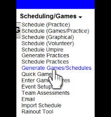 Softball Game Schedule Maker Online Softball Scheduling Maker Management Software Manager Tool