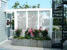deck privacy screen make a lattice for outdoor ideas patio
