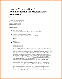 Gallery Of Medical Recomendation Letter