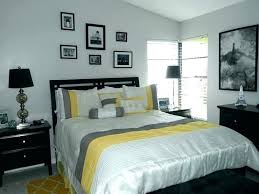 bedroom with black furniture. Black And Grey Bedroom Furniture Yellow  Gray With