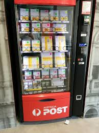 Australia Vending Machine Stunning Australia Post Vending Machine Postal Vending Postcards Stamps