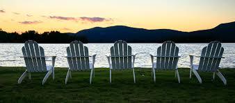 adirondack chairs lake.  Chairs Adirondack Chairs On Blue Mountain Lake Throughout A