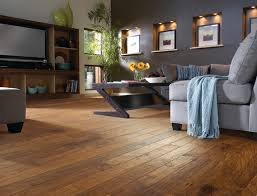 Brilliant Wood Floor Living Room Hickory Contemporarylivingroom Houzz Intended Innovation Ideas