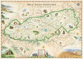 great smoky mountains national park (xplorer maps) jigsaw puzzle